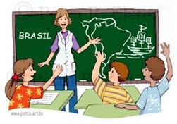 Resultado de imagen de profesora explicando